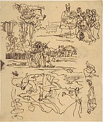 Sketches for Biblical Scenes