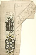 Design for a White Chasuble