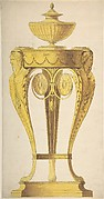 Design for a torchere or perfume burner