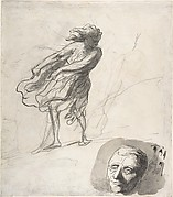 Sheet of Studies with a Dancer