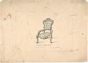 Design for Armchair, François Premier Style