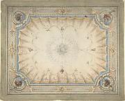 Ceiling Design for the Boudoir, Ardgowan