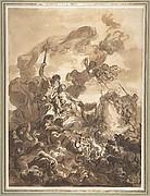 Allegory of Fishery:  Neptune and Amphitrite