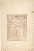 Design for a Vestibule for A. C. Grant, Priory Grove, Perspective