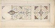 Design for a Ceiling in the Manner of Pergolesi