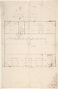 A Plan of the Gallery Floor over Offices, and Two Side Walls, Queens Square, Camden, London