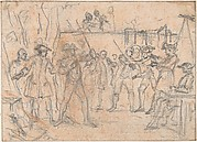 Study for an Engraving of