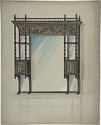 Design for a Mirror over a Mantel