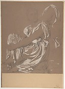 Seated Female Figure. Study for the Figure of the Iliad in: The Apotheosis of Homer