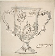 A Silver Urn, inscribed