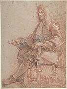 Gentleman Seated in an Armchair