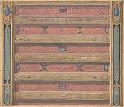 Design for Salon Ceiling, Château de Cangé