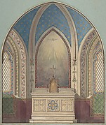 Design for Altar, Saint Clotilde