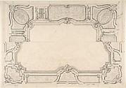 Design for Grand Salon Ceiling, Hôtel Hope
