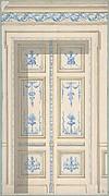 Design for Bedroom Doors, Hôtel de Jagan
