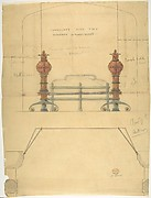 Design for a Grate, with Plan