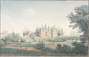 The Château of Chambord Seen from the Southwest