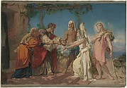 Tobias Brings His Bride Sarah to the House of His Father, Tobit