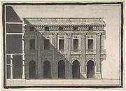 Design for the Garden Façade of the Palais Royal
