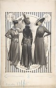 Designs for Three Women's Coats