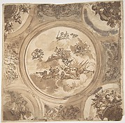 Ceiling Design with an Allegory of Victory