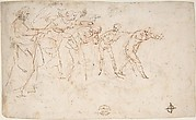 The Expulsion of Adam and Eve from Paradise (recto); Studies for the Same Composition (verso)