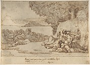 Sleep: sketch for the painting, now in the museum at Lille