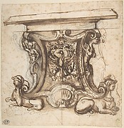 Design for the End Pier of a Table