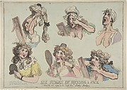 Six Stages of Mending a Face, Dedicated with respect to the Right Hon-ble. Lady Archer
