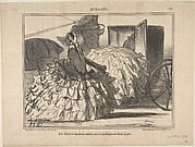 Des dames d'un demi-monde, mais n'ayant pas de demi-jupes, from Actualités, published in Le Charivari, May 11, 1855