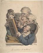 The Art Connoisseurs (Les Amateurs de Tableaux), from the series Recueil des Grimaces (Collection of Grimaces)