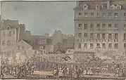 Louis XVI Entering Paris, October 6, 1789