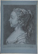 Head of a Young Girl in Profile