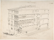 Perspectival Cross-Section of a Venetian Palace