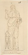 Female Figure with Tripod
