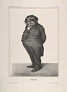 Clément-François-Victor-Gabriel Prunelle, published in La Caricature no. 138, June 27, 1833