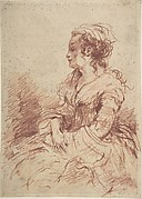 Portrait of a Lady, seated