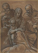 The Virgin and Child with Two Male Saints