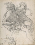 Study of Two Figures for the Age of Gold