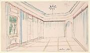 Drawing of an Interior: Salon