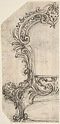 Design for an Armchair Decorated with Putti Heads (Recto). Sketches (Verso).