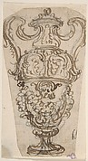 Outline of the Design for a Two-Handled Vase