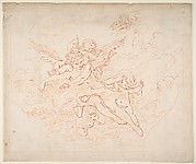 Preparatory Drawing of a Ceiling for Etching after Boucher Drawing