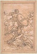 Allegorical Composition: Music and Justice with the Spinola Arms