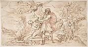 Abraham about to Sacrifice Isaac