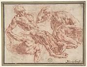 Studies of Nude Men