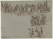Studies of Walking Figures