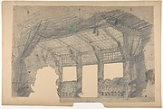 Design for a Stage Set at the Opéra, Paris: a Greenhouse