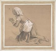 Kneeling Milkmaid
