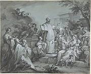 Saint Ignatius of Loyola Preaching